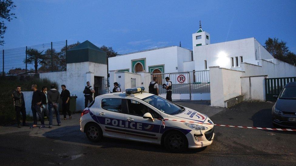 France mosque news