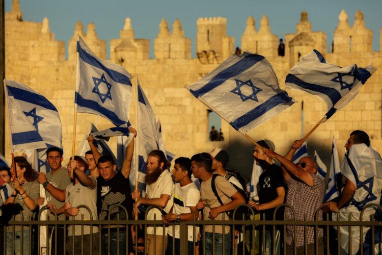 Jerusalem flag march